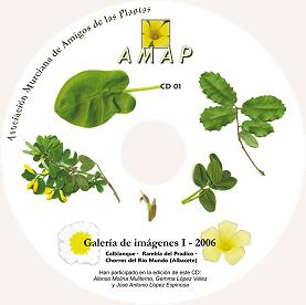 Carátula primer CD de imágenes AMAP (I 2006)