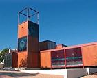 """Centro de visitantes y gestión """"El Valle"""". Fotografía de """"El Mirador"""", boletín informativo de los Espacios Naturales de la Región de Murcia"""