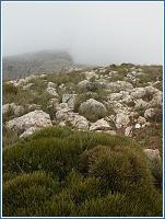 Cumbres de Sierra Espuña en un día otoñal-invernal, al fondo Morra de las Moscas
