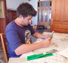 Disegno in ceramica
