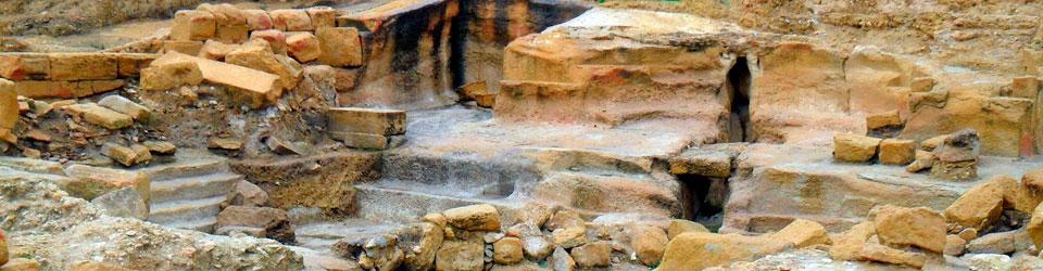 Baños Romanos Fortuna:El yacimiento