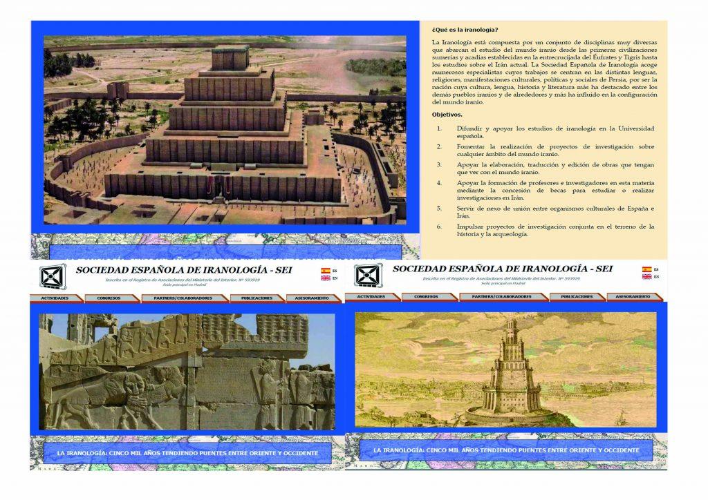 Pagina web de la Sociedad Española de Iranología, (SEI) : www.iranologia.es/es/