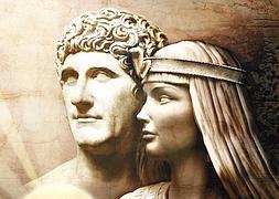 """""""Representación idealizada de Cleopatra y Marco Antonio"""