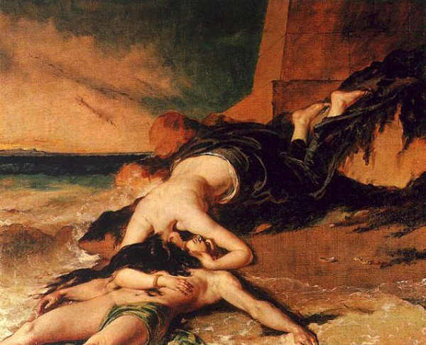 Hero and Leander, de William Etty