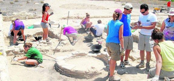 Hallan en Los Villaricos la almazara romana más grande de la Península