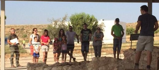 Mula invita a las familias de las pedanías a explorar la villa romana de 'Los Villaricos'