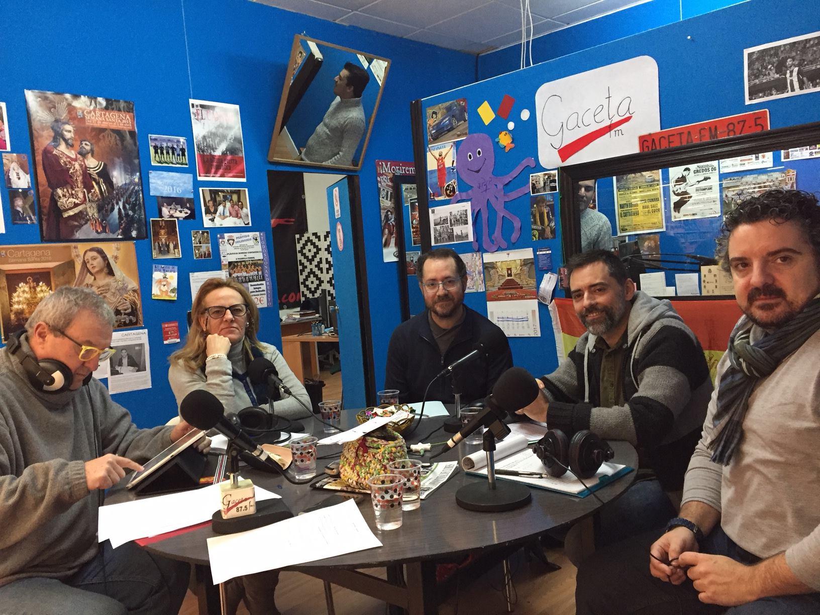 CEPOAT en las Ondas del Parnaso de radio Gaceta