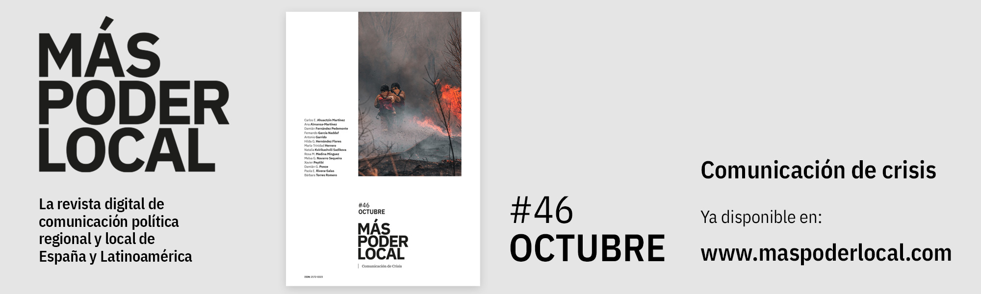 Comunicacion de Crisis. Revista Más Poder Local nº46
