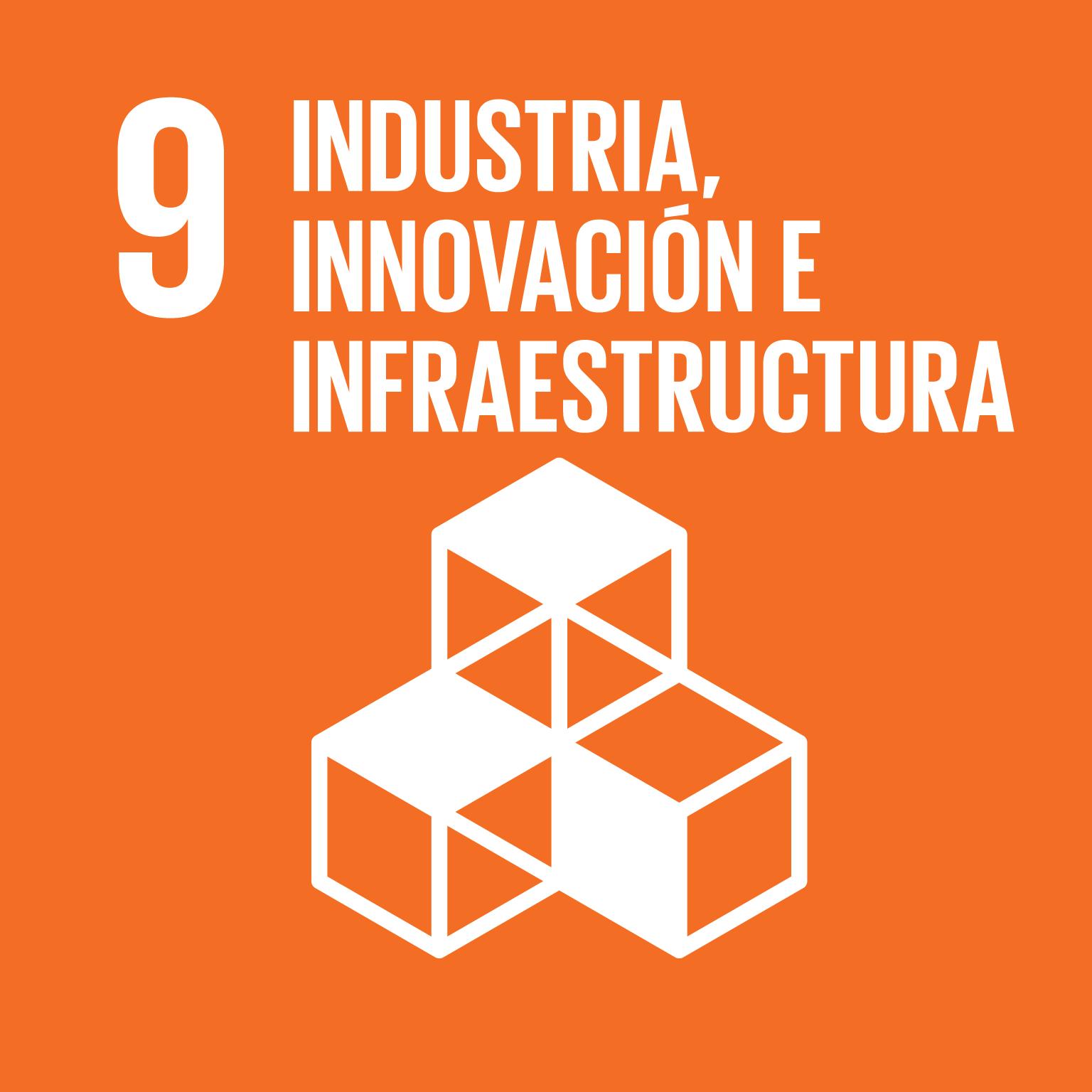 ODS 9. Industria, innovación e infraestructura.