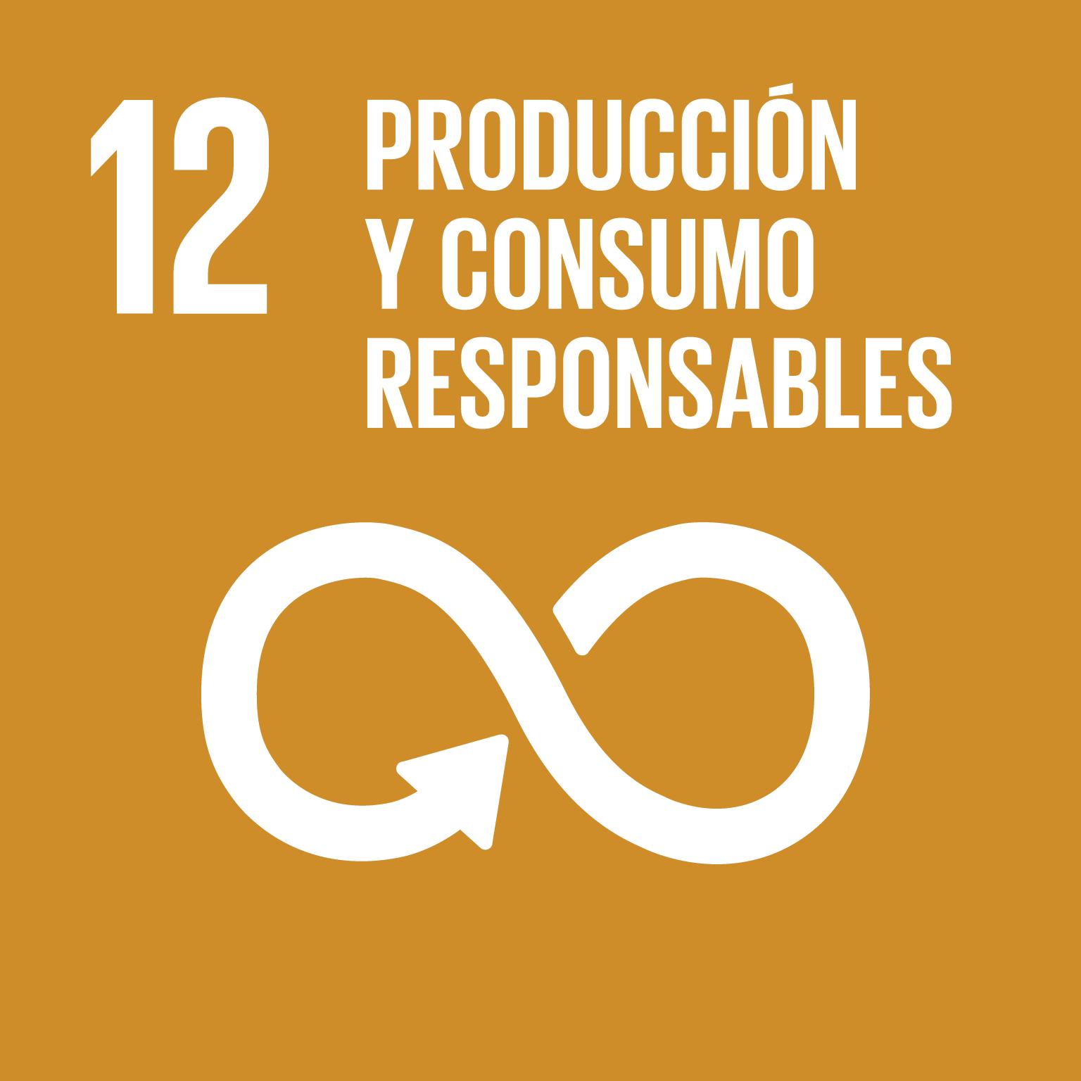 ODS 12. Producción y consumo responsables. UMU. Campus Sostenible.