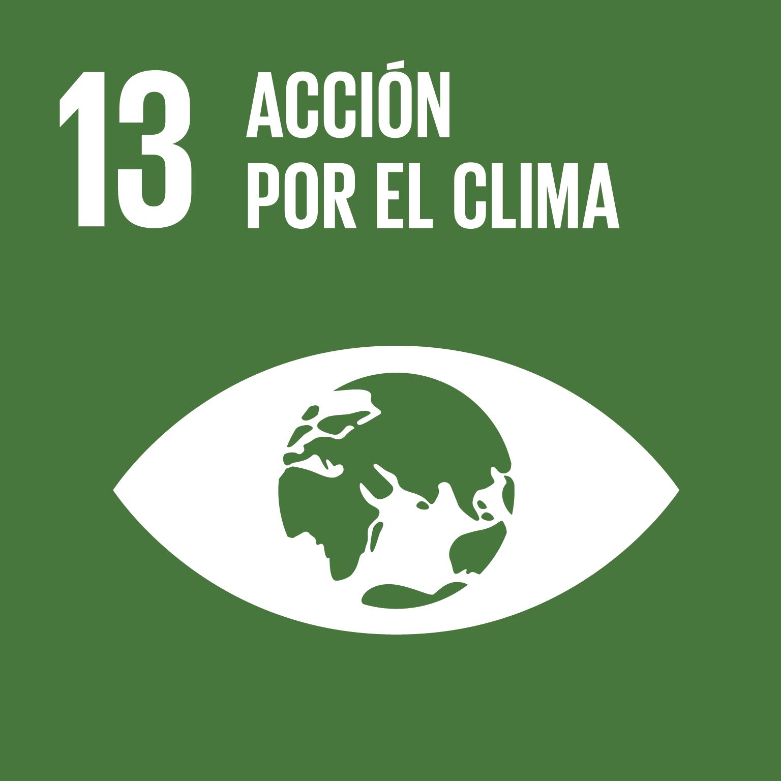 ODS 13. Acción por el clima