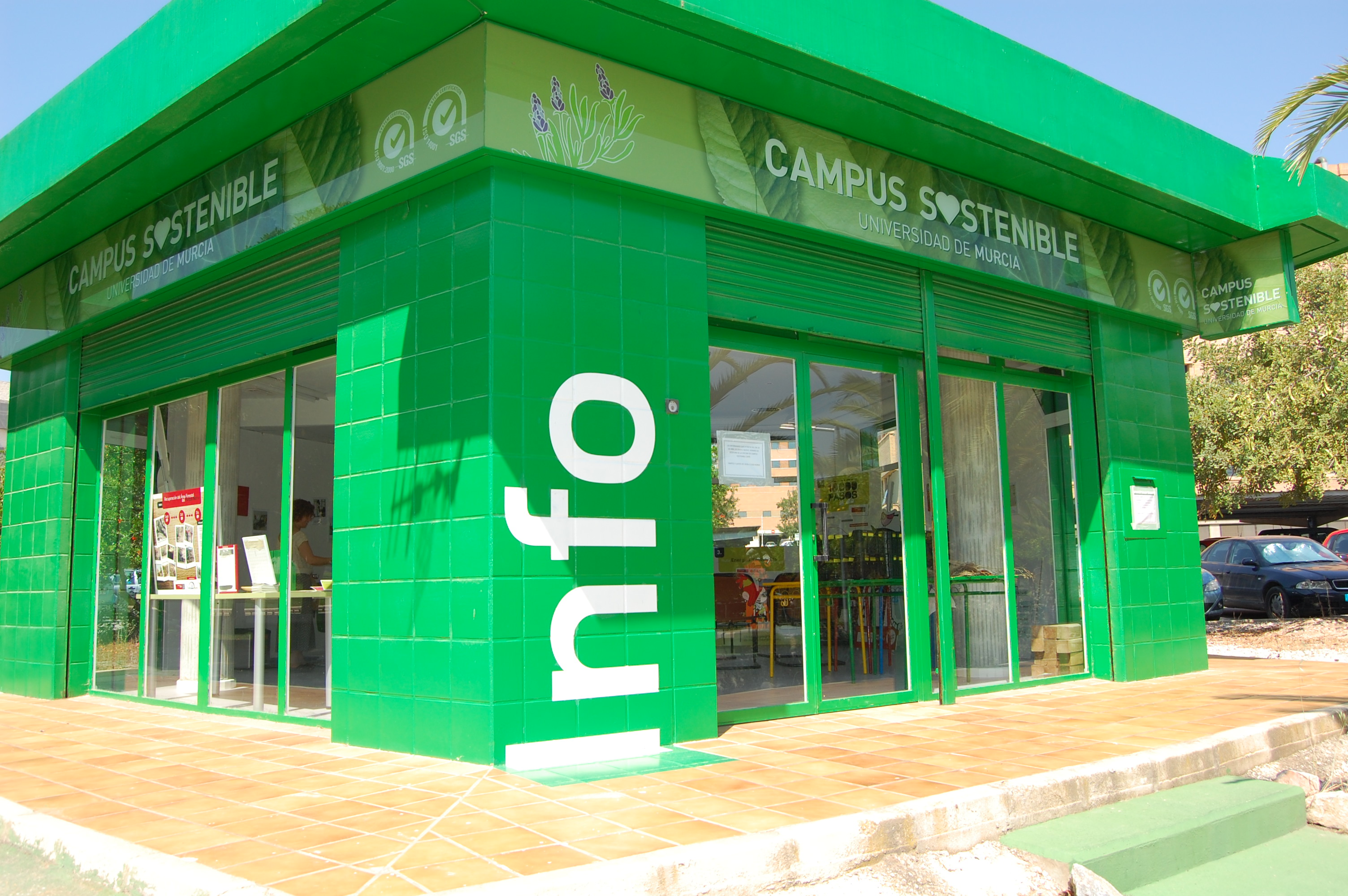 2. Kiosco de Información de Campus Sostenibl