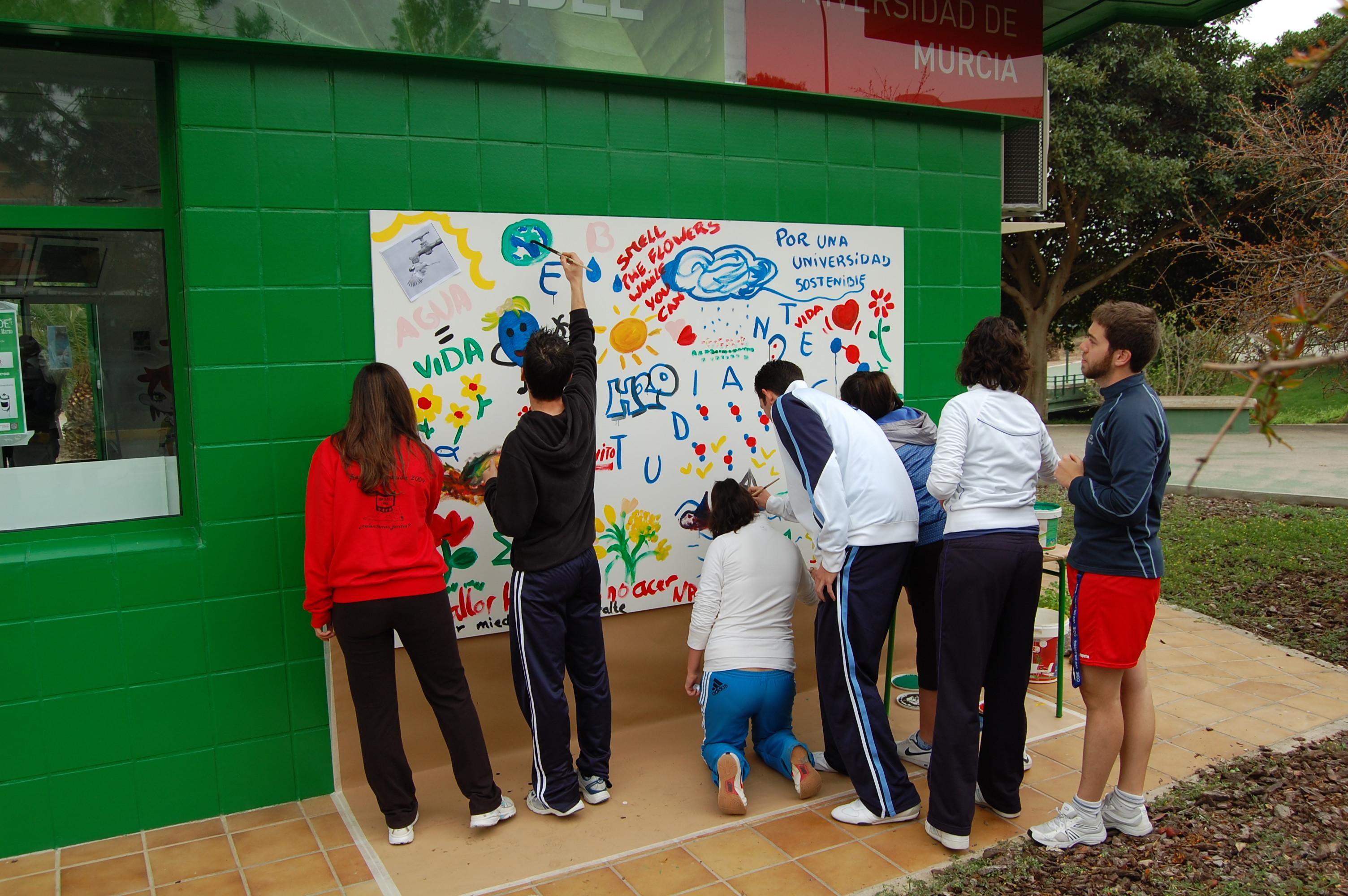 4. Mural solidario con el Medio Ambiente