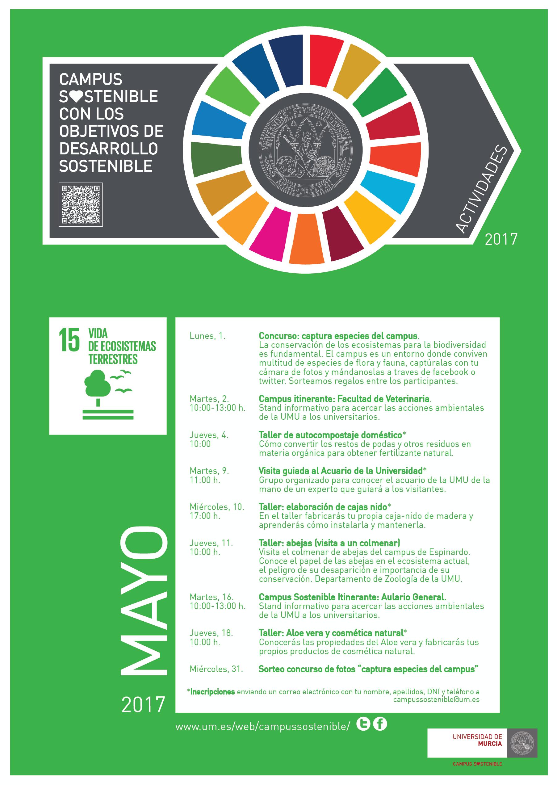 Actividades ambientales para universitarios en mayo - Visualizador ...