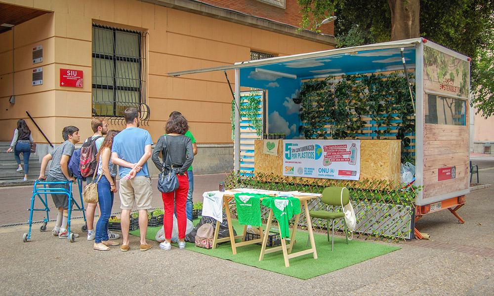 Caravana de Campus Sostenible en la Merced