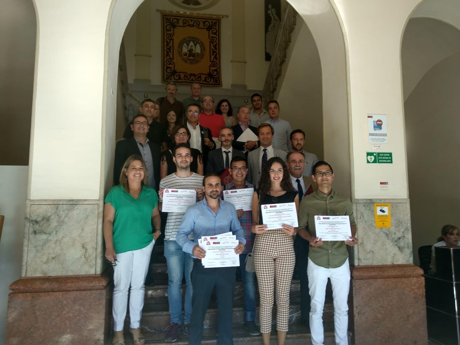 Ganadores IV Premio Creación de empresa basado en un TFG/TFM