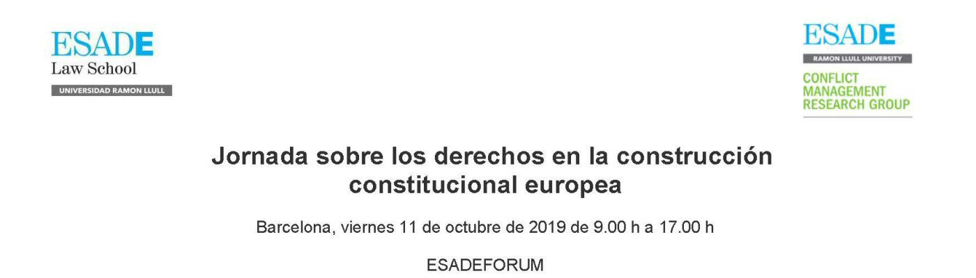 Workshop Rights in the construction of Europe - Barcelona
