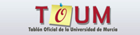 Tablón Oficial de la Universidad de Murcia