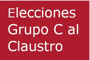 Elecciones Grupo C al Claustro