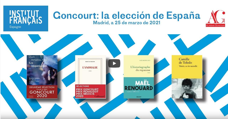 Premio Goncourt: la elección de España