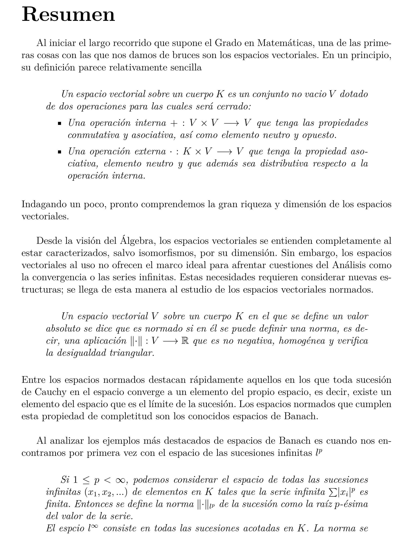 TFG: Espacios de Lorentz-Zygmund (José Pedro Parra Gómez, 2017 ...