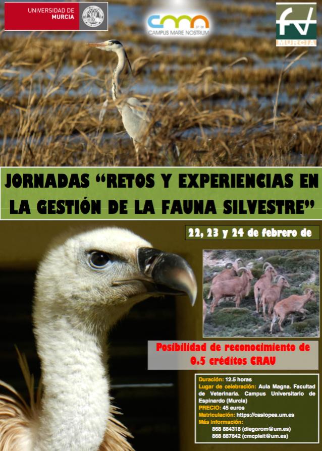Jornadas de Fauna Silvestre FVETUM febrero 2018