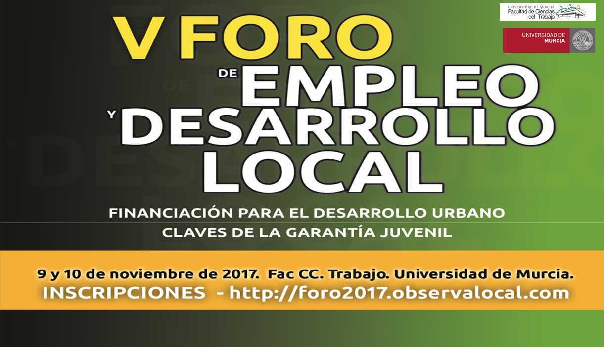 V Foro de Empleo y Desarrollo Local