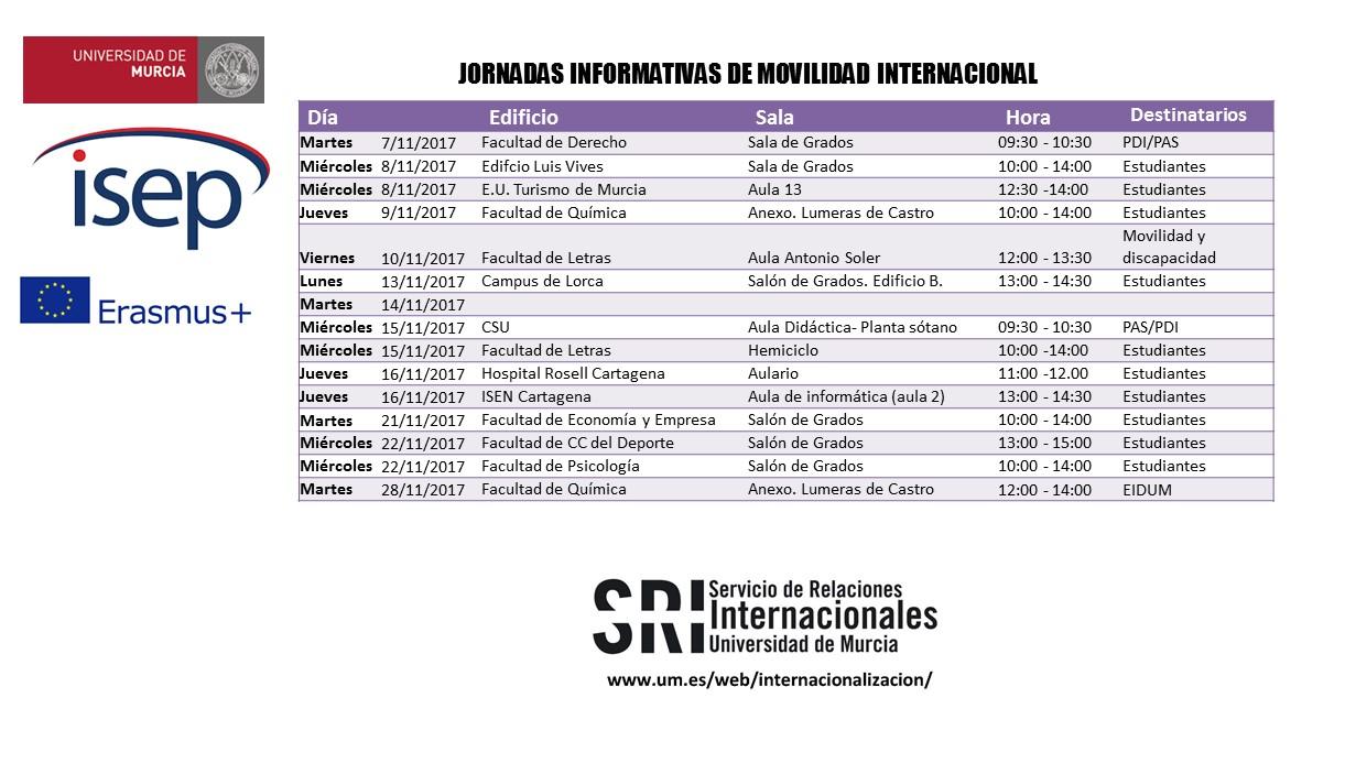 Jornadas de movilidad internacional