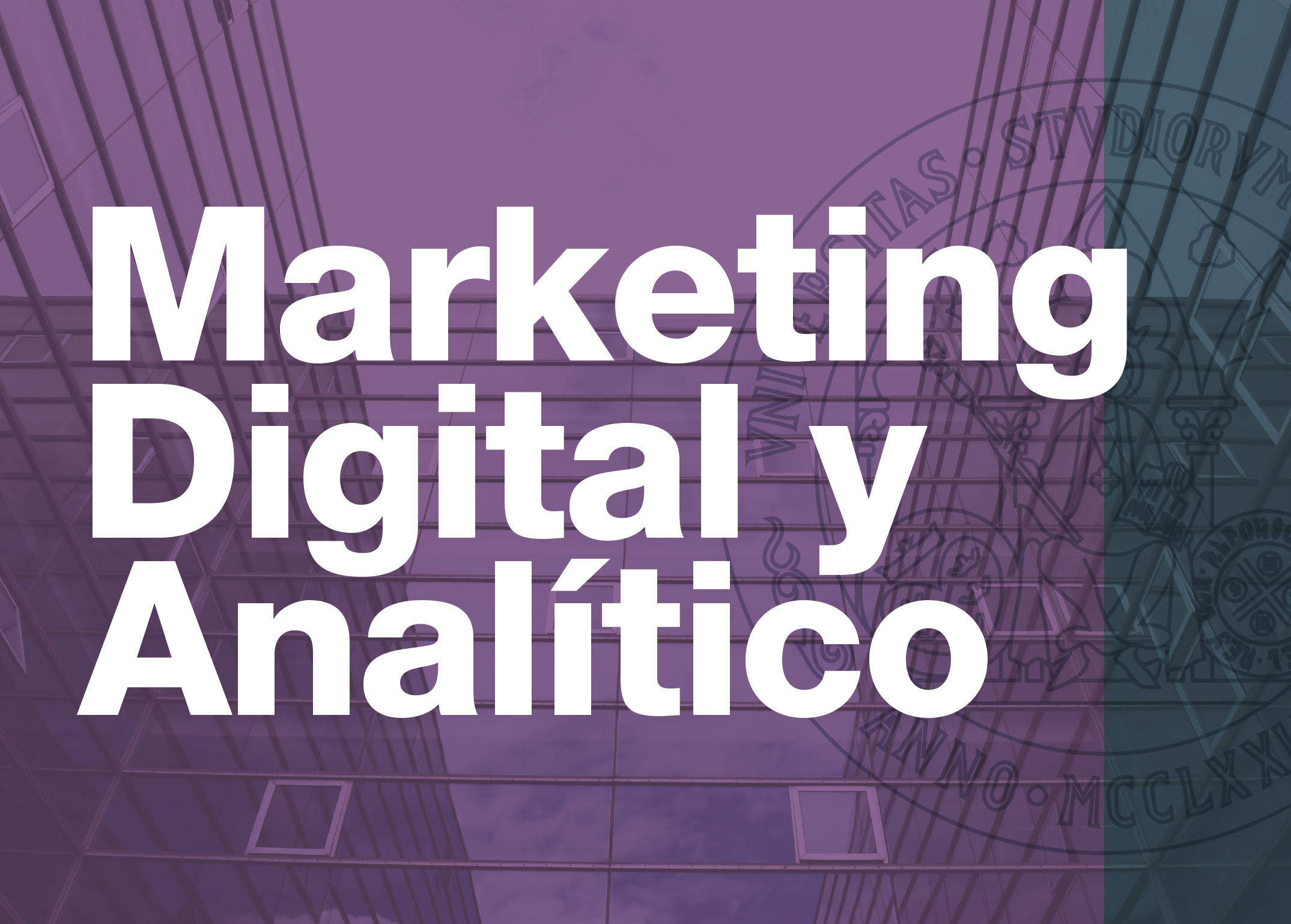 Marketing Digital y Analítico