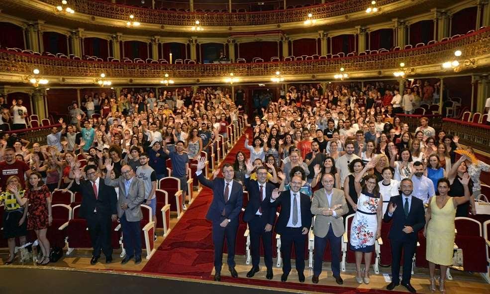 Murcia da la bienvenida a los casi mil alumnos internacionales que pasarán este curso por la UMU