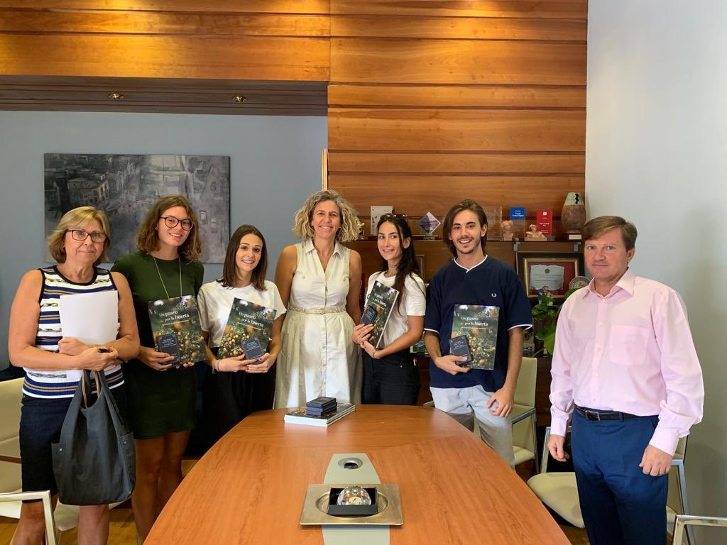 Estudiantes Internacionales Erasmus+ procedentes de Génova son recibidos por el Ayuntamiento de Murcia