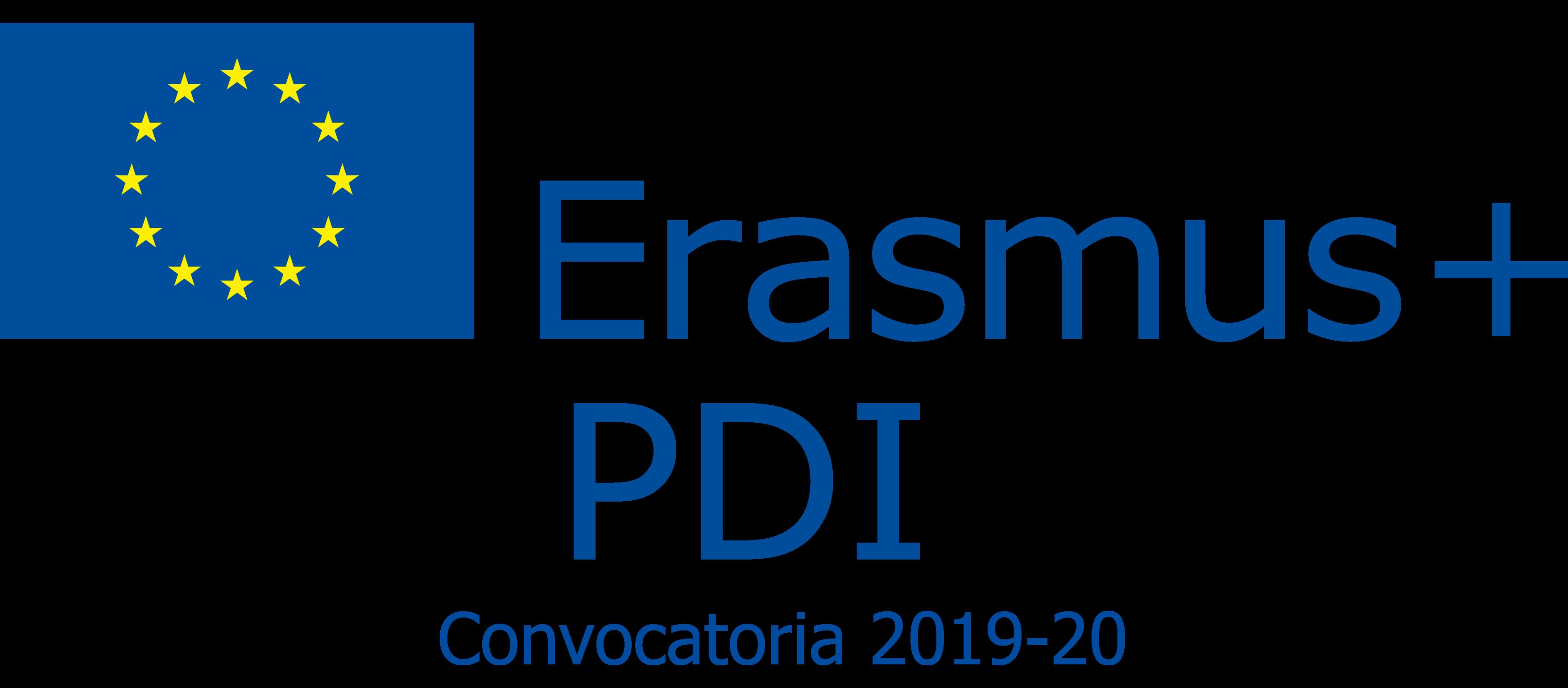 Ampliación del plazo de realización de movilidades convocatoria Erasmus+ PDI 2019-20