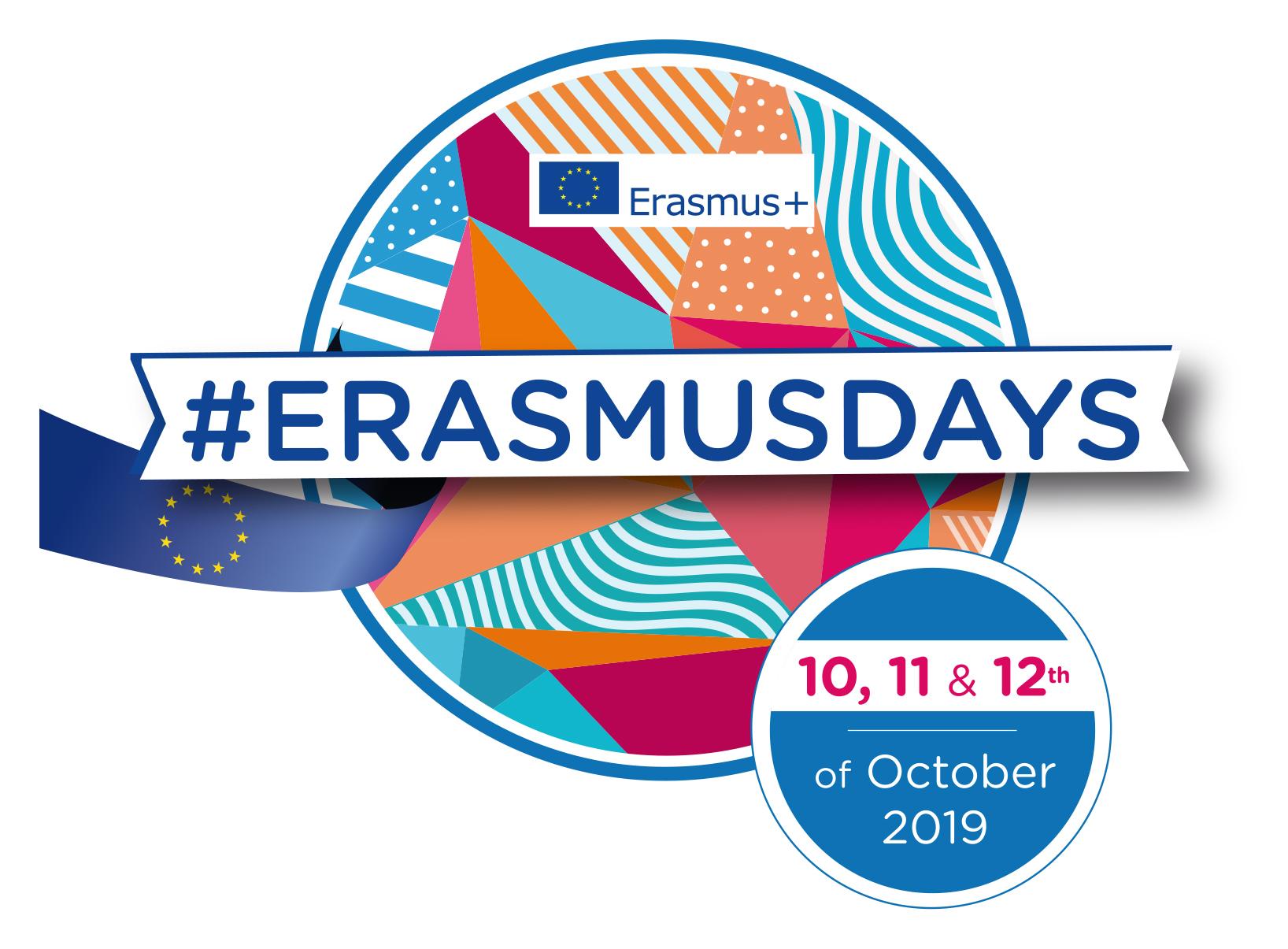 #ErasmusDays logo