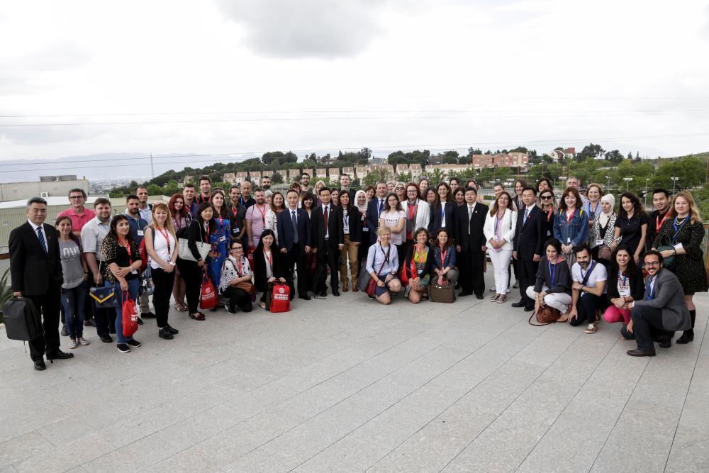 Representantes de 44 universidades de todo el mundo han participado en la XI Erasmus Staff Training Week de la UMU
