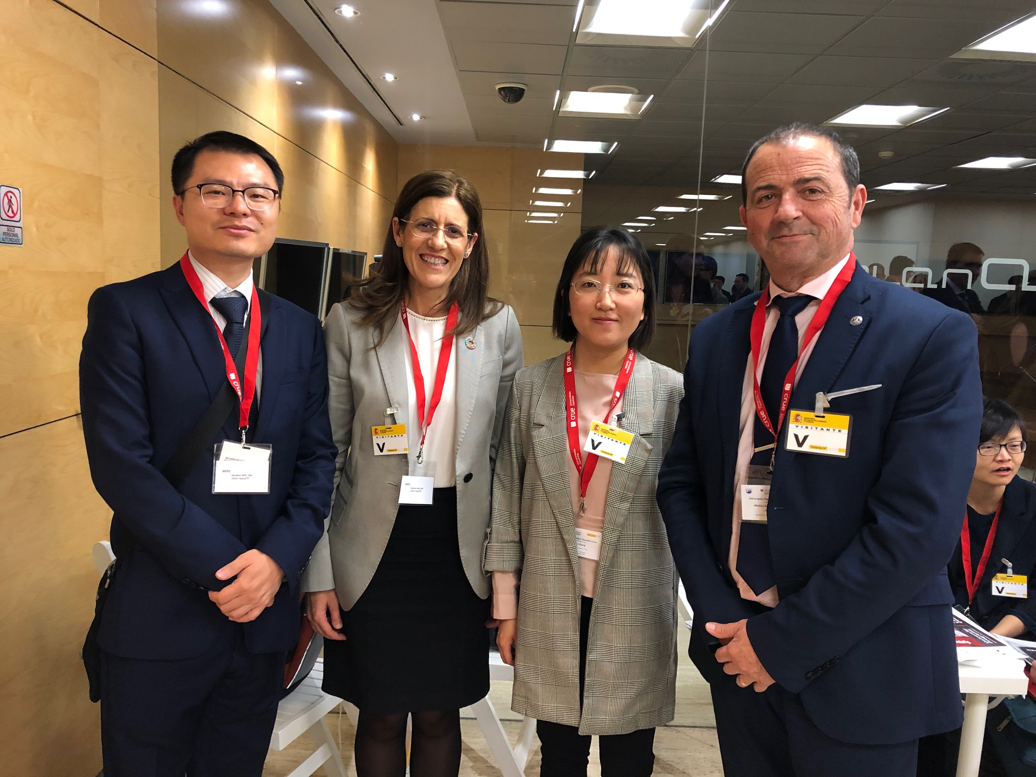 La UMU asiste al encuentro CRUE entre universidades Españolas y Chinas en Madrid