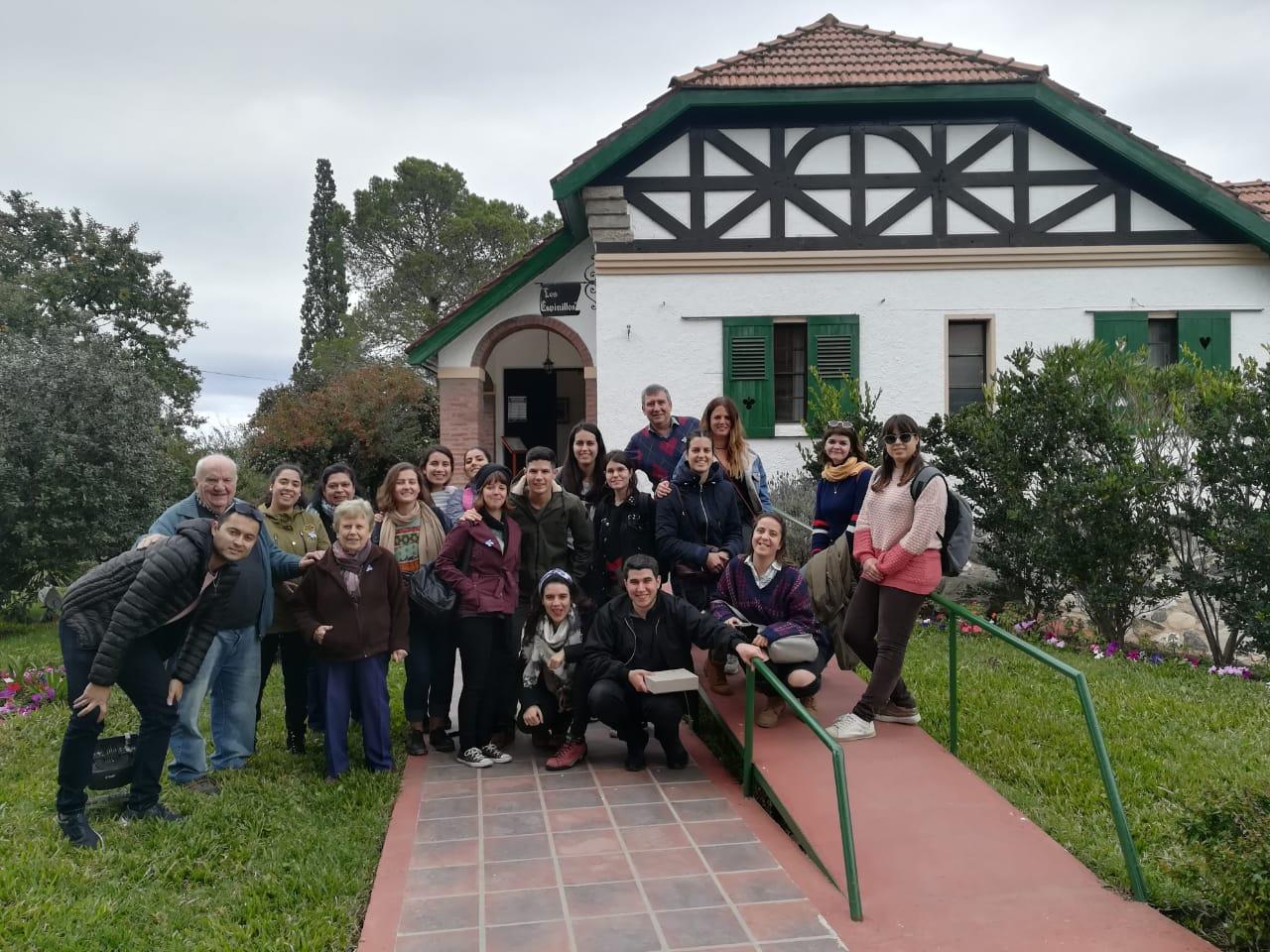 Becarios UMU del programa ILA en Córdoba visitan Alta Gracias