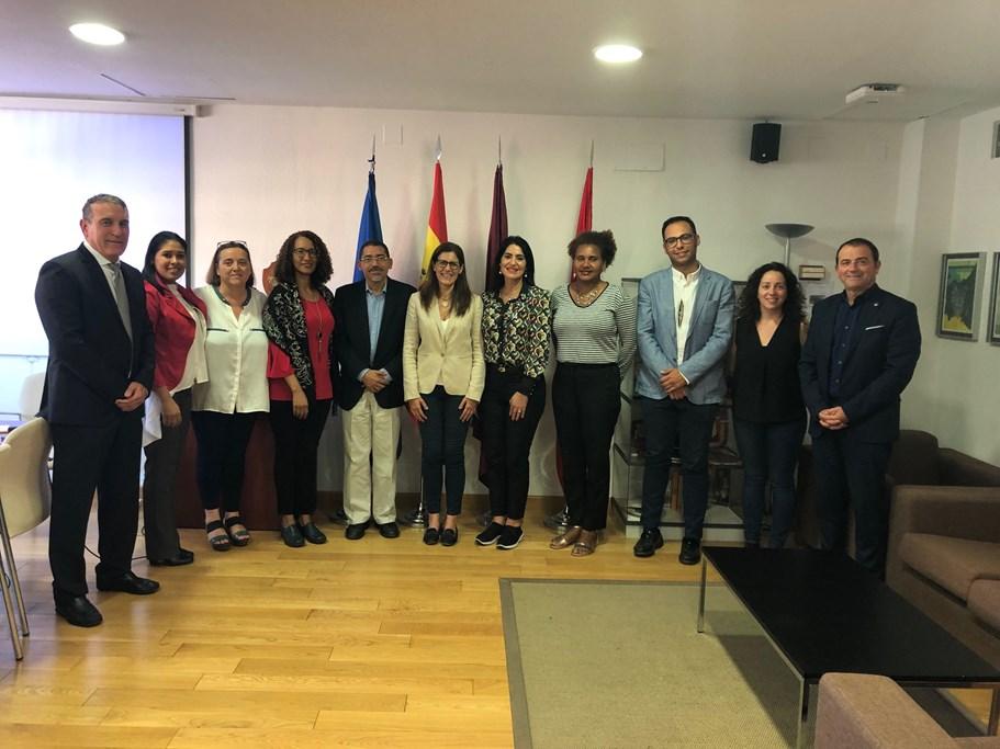 Una delegación de República Dominicana conoce la inclusión educativa de los niños y adolescentes en situación de discapacidad en la Región de Murcia