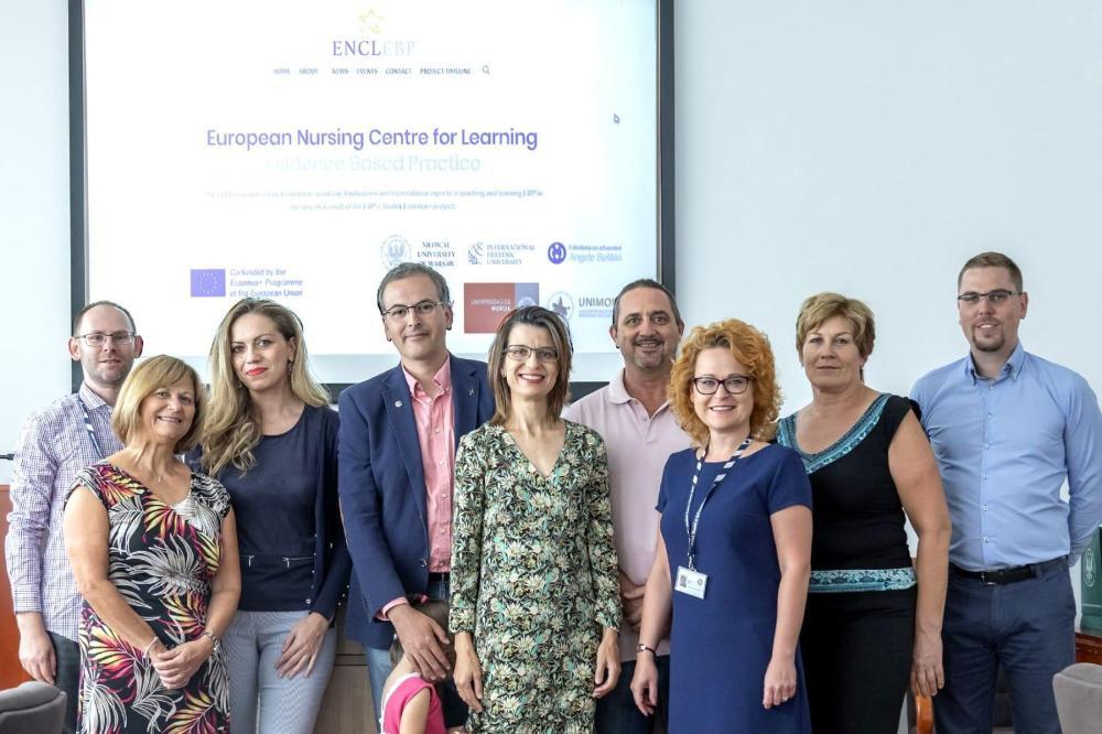 """Reunión en Varsovia del proyecto """"EBP e-Toolkit"""" liderado por la Facultad de Enfermería de la UMU"""
