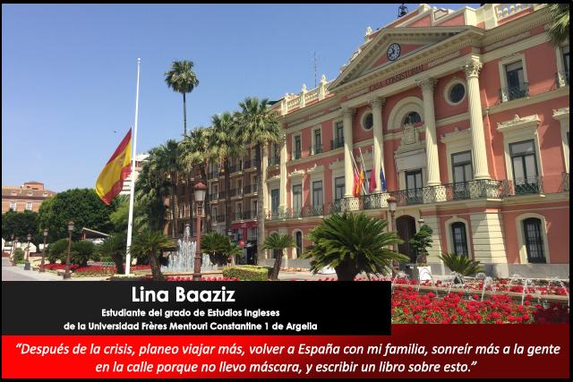 Relatos desde el confinamiento: Lina Baaziz, estudiante de Argelia