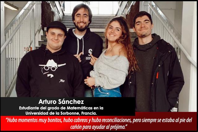 Relatos desde el confinamiento: Arturo Sánchez, estudiante UMU en París
