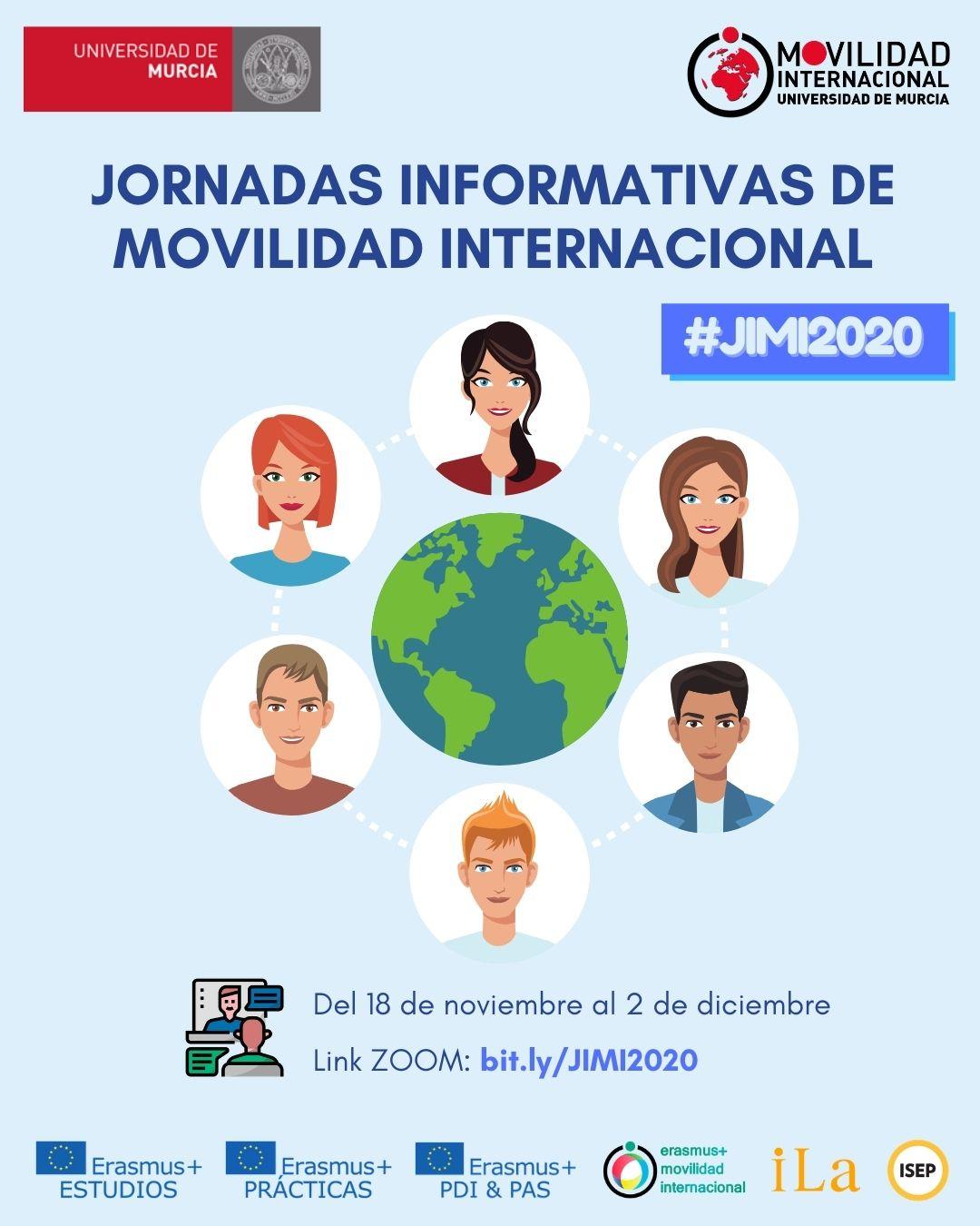 Jornadas Informativas de Movilidad Internacional #JIMI2020