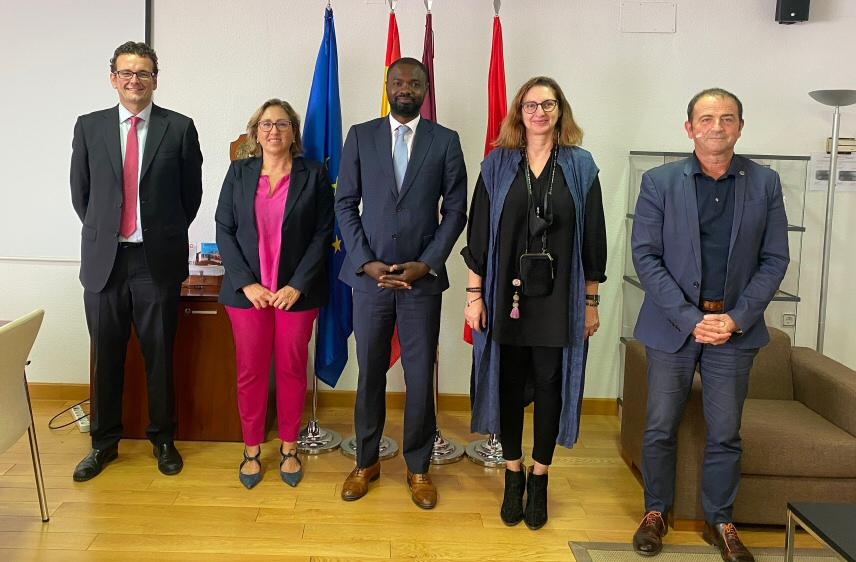 Recepción  en Internacionalización a la embajada de Mauritania