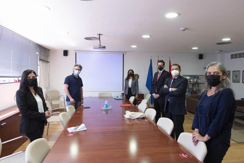 El equipo de Internacionalización de la UMU se reúne con el concejal de Educación del Ayuntamiento de Murcia
