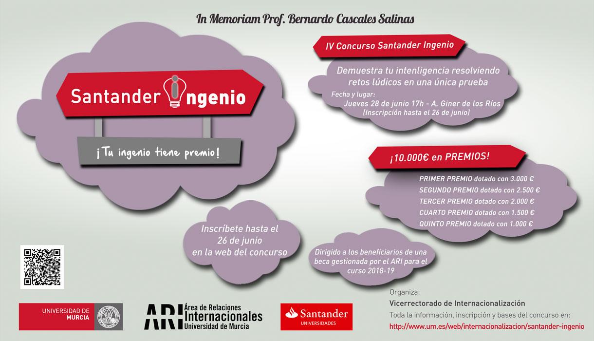 IV Santander Ingenio - Cartel