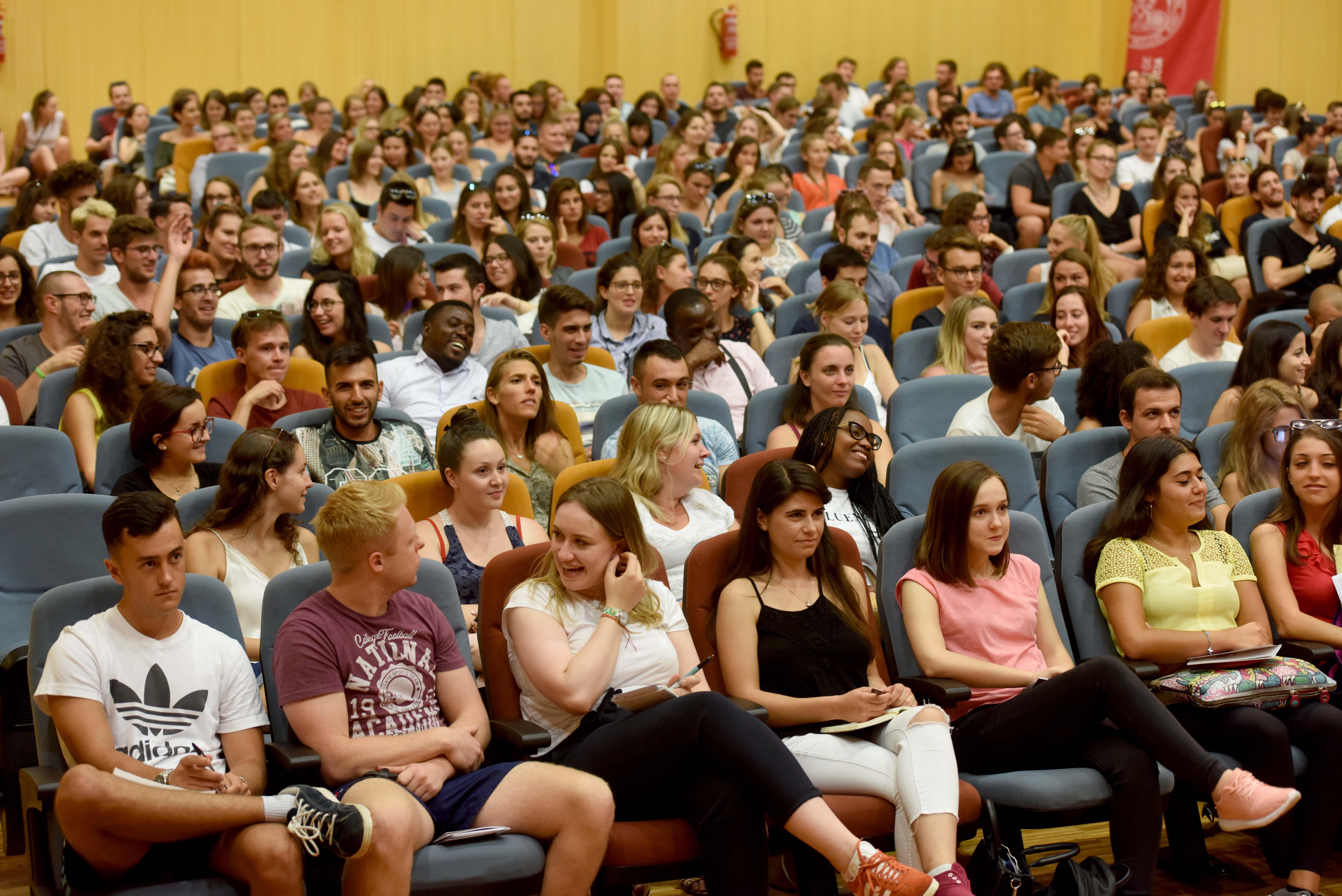Bienvenida Erasmus 2017-18
