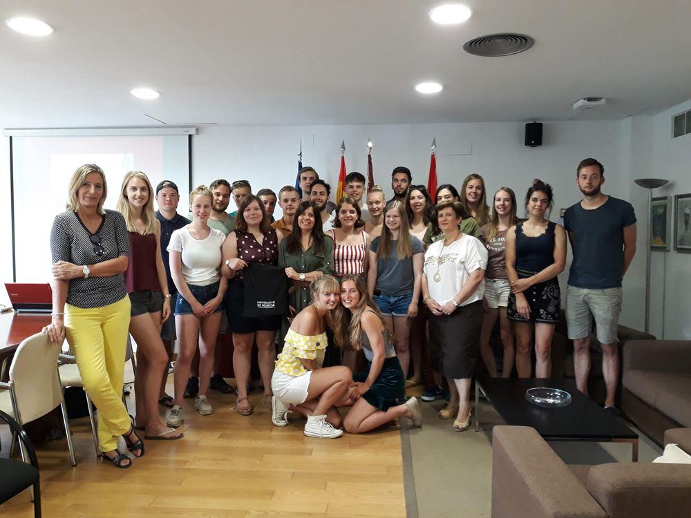 23 Alumnos de la U. Van Hall Larenstein de los Paises Bajos visitan la UM
