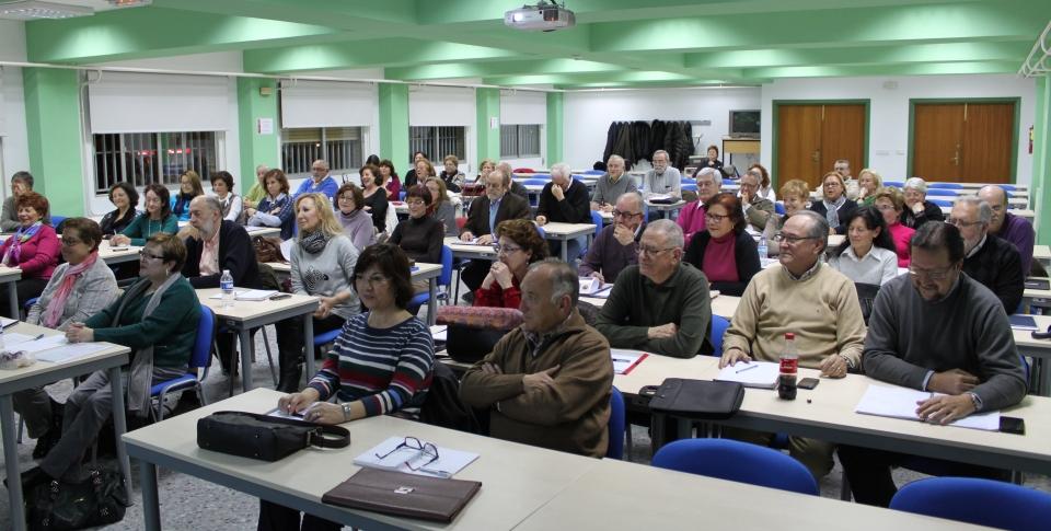 Sesión de formación en aula