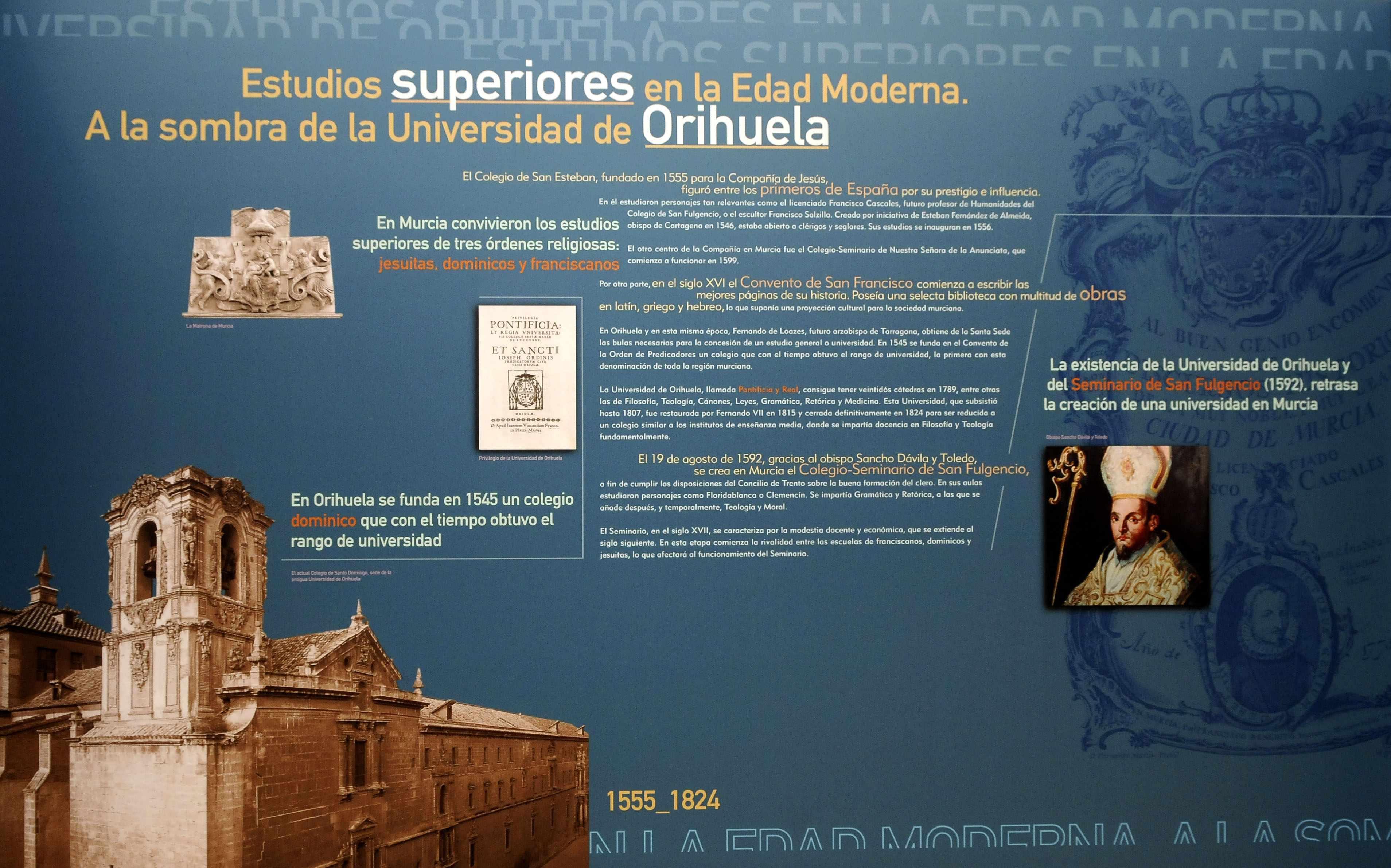 Estudios superiores en la Edad Moderna