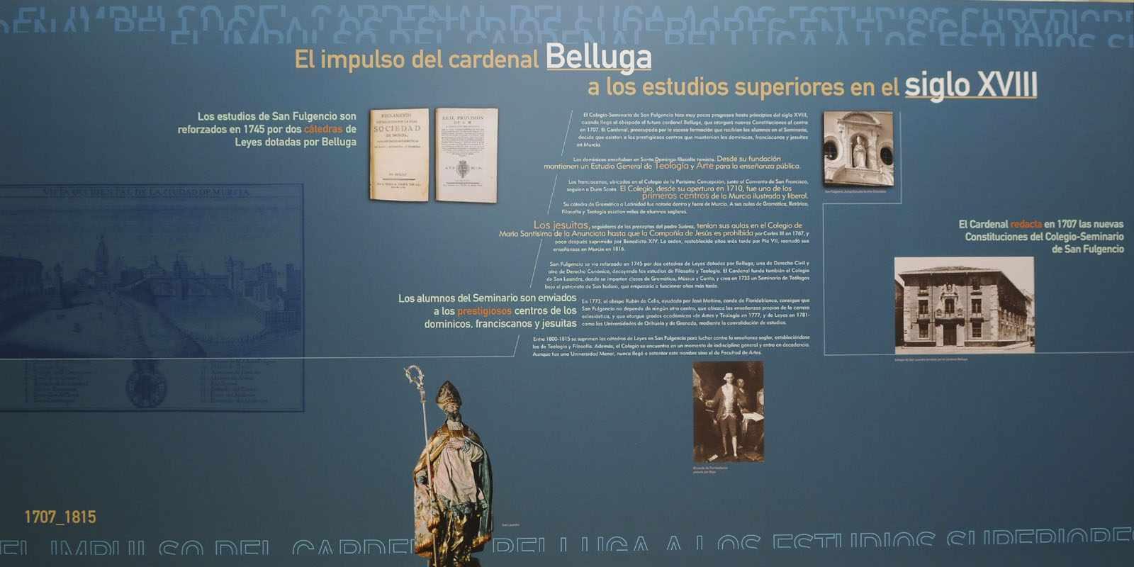 El Cardenal Belluga y los estudios superiores en el siglo XVIII