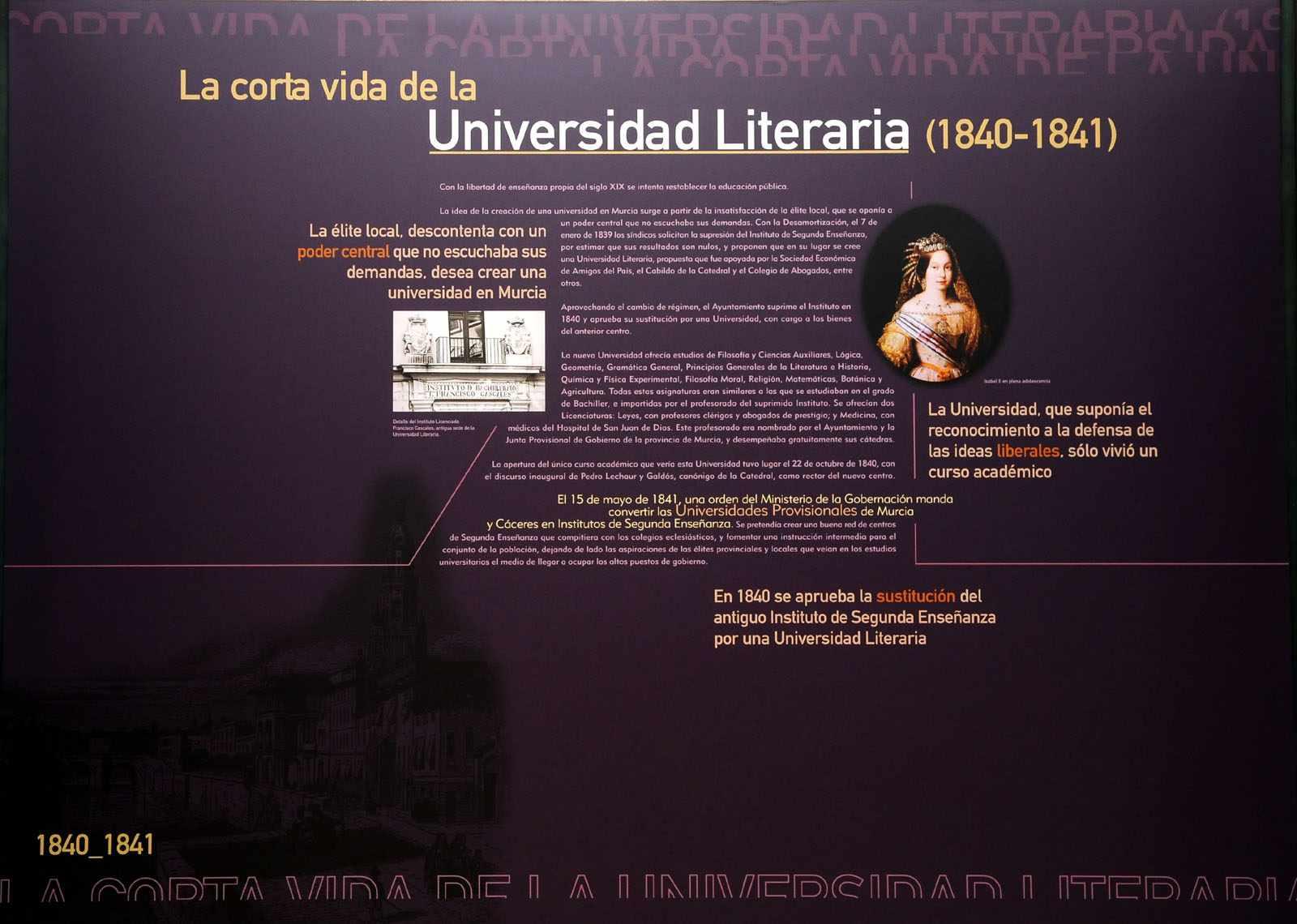 La corta vida de la Universidad Literaria (1840-1841)